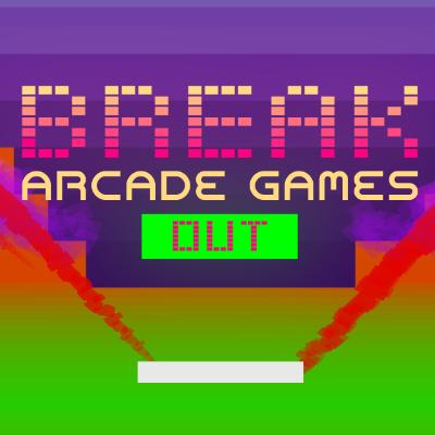 Break Arcade Games Out Logo