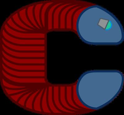 Cyborg Earthworm Logo